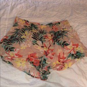 BILLABONG floral beach shorts